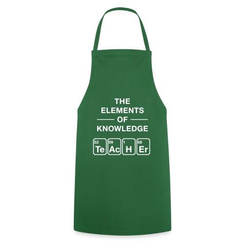 Lustig Periodensystem Lehrer Shirt Geschenk - Kochschürze