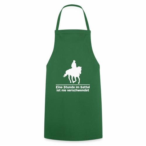 Reiten Pferde Pferdesprüche T-Shirt Pferdemädchen - Kochschürze