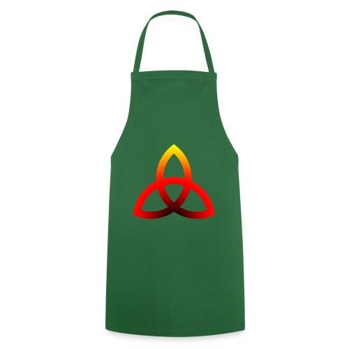 Feuriges Triketra Zeichen - Kochschürze