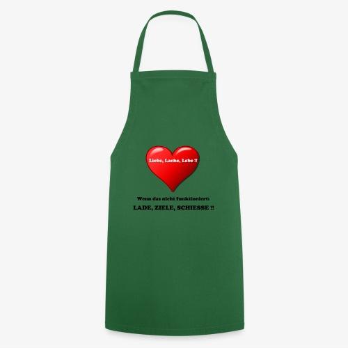 Liebe, Lache, Lebe!! - Kochschürze