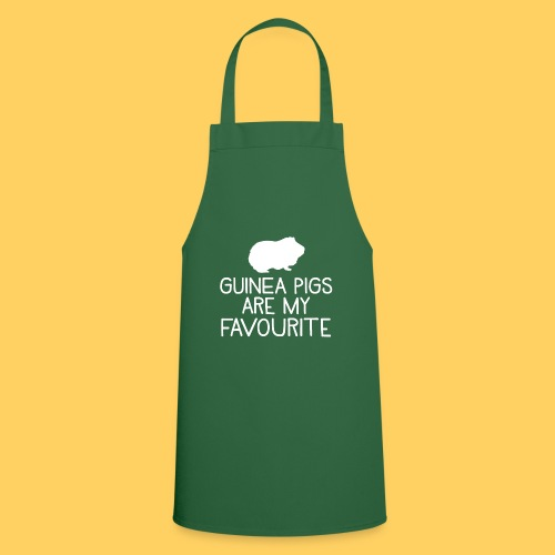 guinea pigs are my favourite - Cooking Apron
