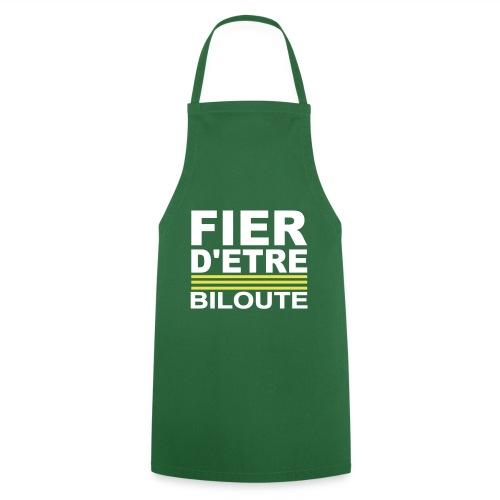 Fier BILOUTE Blanc 01 - Tablier de cuisine