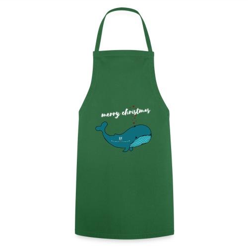 Wal merry Christmas - Kochschürze