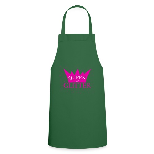 Königin des Glitzer - Kochschürze