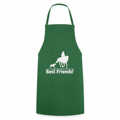 Reiten mit Hund T-Shirt Hunde und Pferde Liebe - Kochschürze