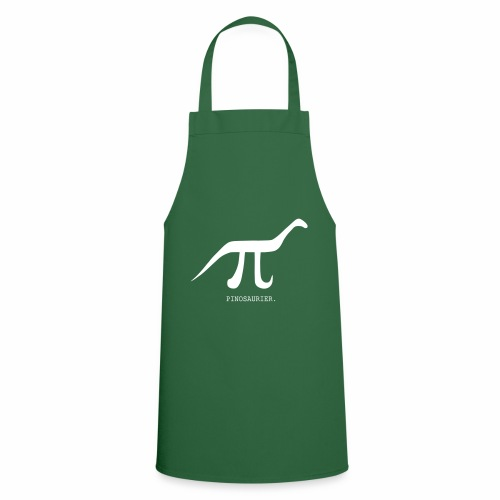 funny nerd geek, pi day, pi, Pinosaur - Cooking Apron