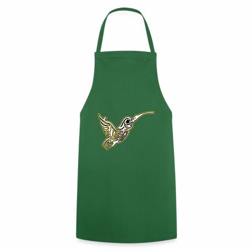 Colibri tête de mort Blanc - Tablier de cuisine
