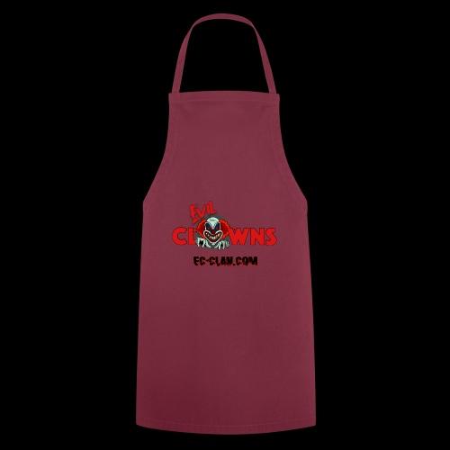 EvilClownsClan black red kontur red - Kochschürze