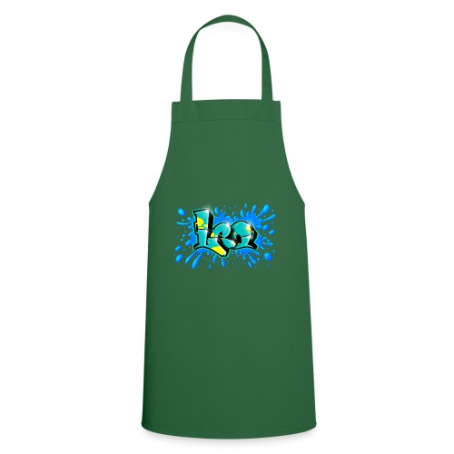 LEO Graffiti Print - Cooking Apron