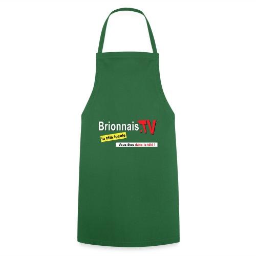 BTV logo shirt dos - Tablier de cuisine