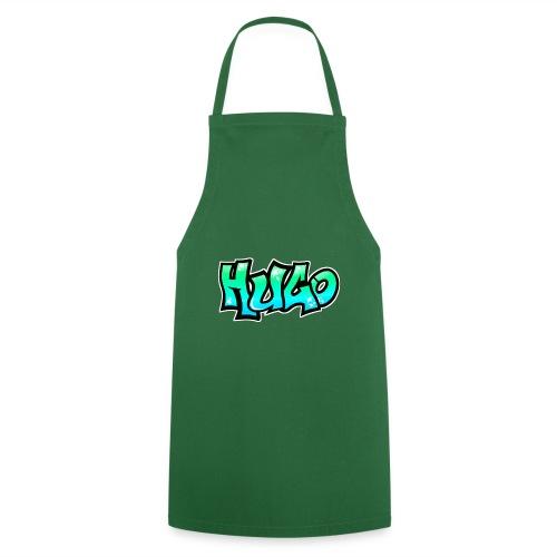 Graffiti Name Hugo BLUE GREEN - Cooking Apron