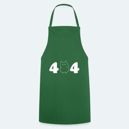404 IT Geschenk für Informatiker Katze NOT FOUND - Kochschürze