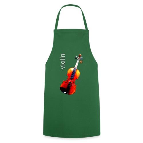 Violín - Delantal de cocina