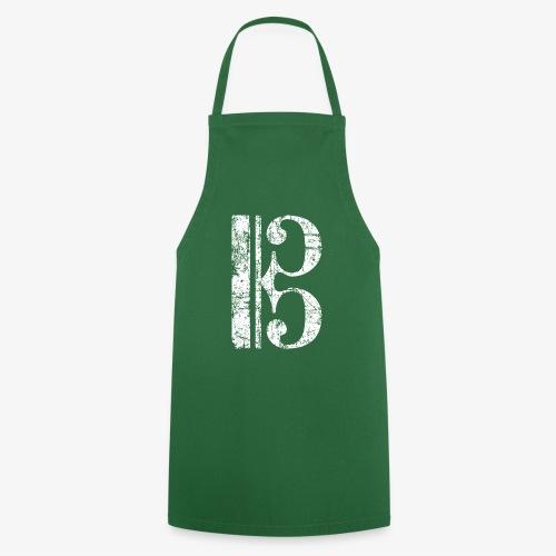 C-Schlüssel für Bratsche, Viola, Cello und Posaune - Kochschürze