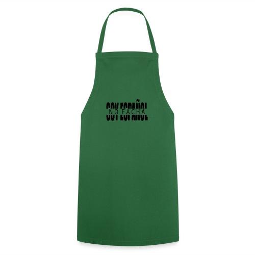 soy español no facha patriots - Delantal de cocina