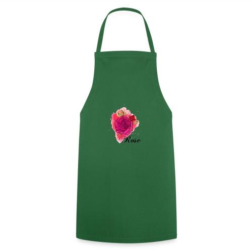 Rosen T-shirt Geschenk Aquarell - Kochschürze