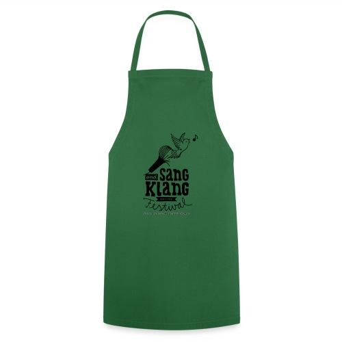 Sang und Klang Grillschürze Grün - Kochschürze