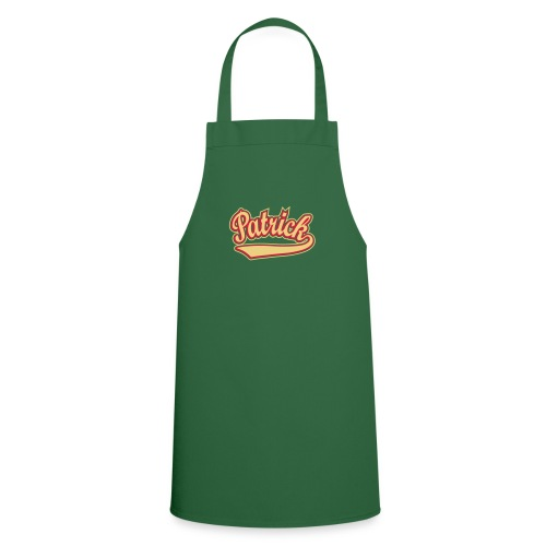 Patrick - T-shirt personalised with your name - Cooking Apron