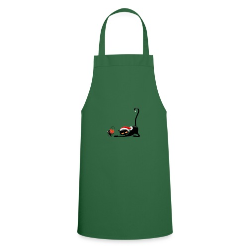 Cat chases mouse - Cooking Apron