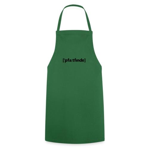 Lautschrift Pfadfinder - Kochschürze