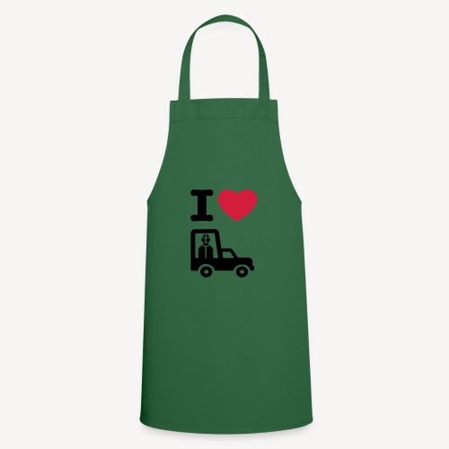 Papst im Auto - Cooking Apron