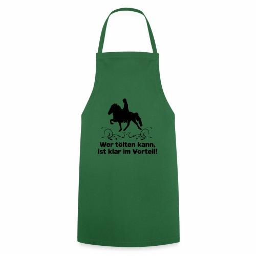 Islandpferd T-Shirt Tölt Spruch Pferdemädchen Isi - Kochschürze