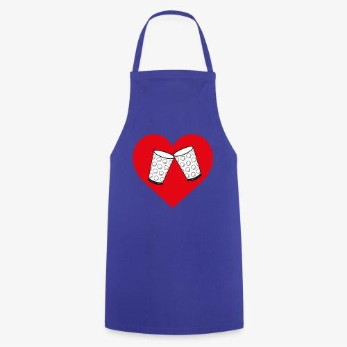 Schorle Liebe – Dubbegläser - Kochschürze