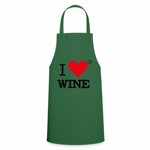 I heart wine - Cooking Apron