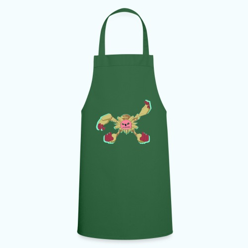 SPIDER MONSTER real drawing - Cooking Apron