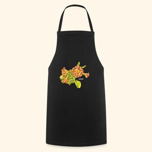 Trompetenbaum Blüten von S.A.R.A. - Kochschürze