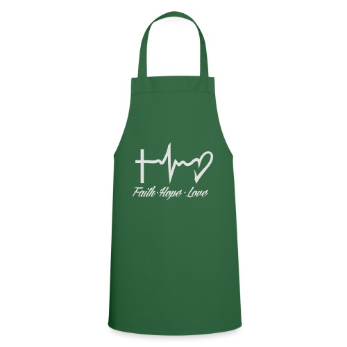 FAITH HOPE LOVE - Cooking Apron