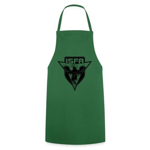 isfa logo 1c schwarz - Kochschürze