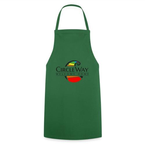 Circleway Welcome Home Logo - schwarz - Kochschürze