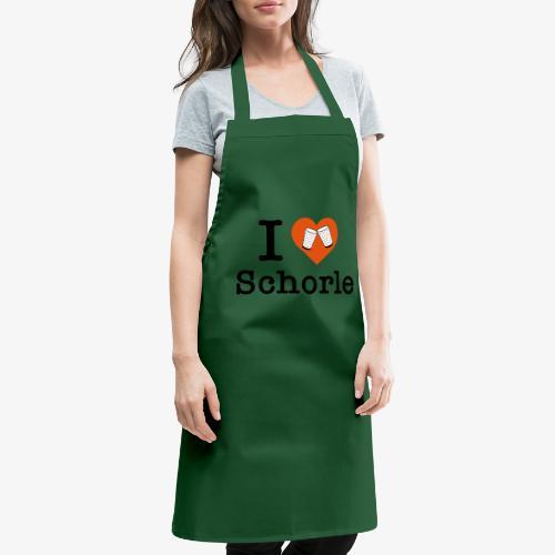 I love Schorle – Dubbeglas - Kochschürze