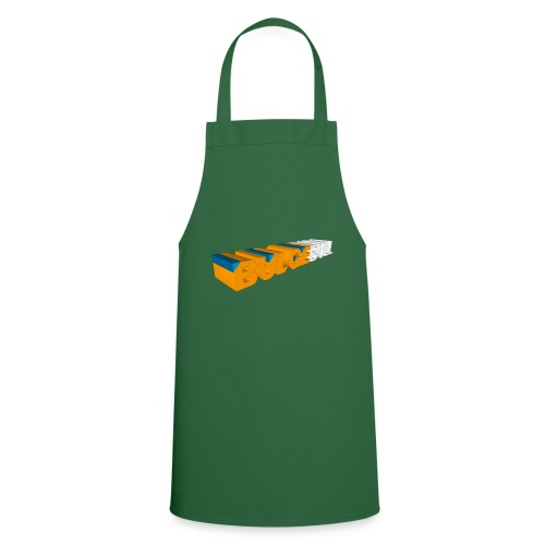 bulgebull logo 3d - Delantal de cocina