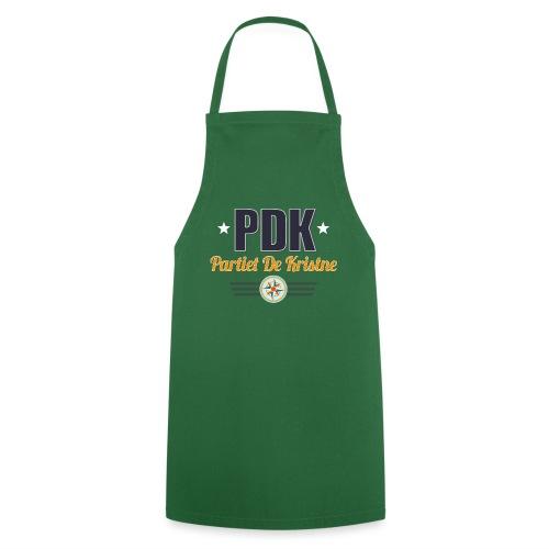 PDK på grågrønn - Kokkeforkle