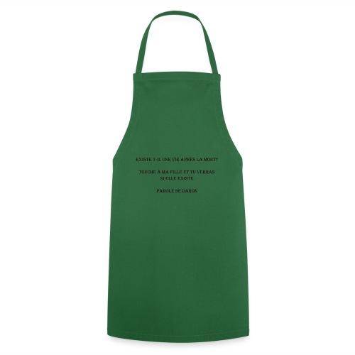 Parole de daron - Tablier de cuisine