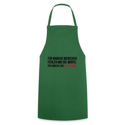 PSYCHO-Edition: Kettensäge Shirt fehlende Worte - Kochschürze