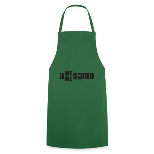 awesome we+me shirt – schwarz - Kochschürze