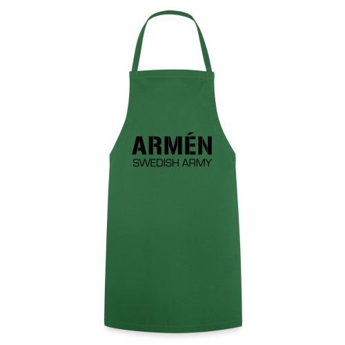 ARMÉN -Swedish Army - Förkläde