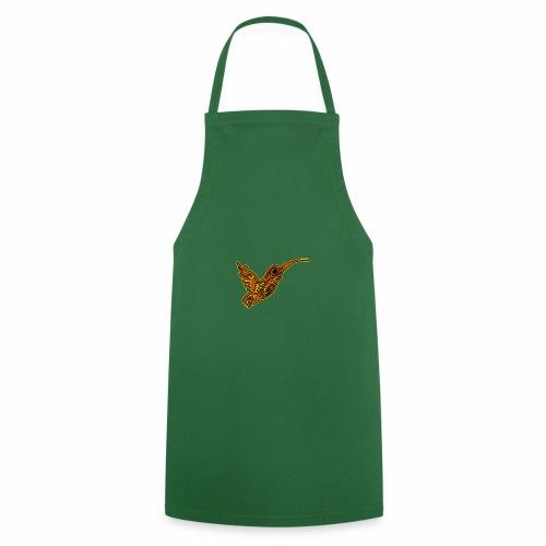 Colibri tête de mort rouge - Tablier de cuisine