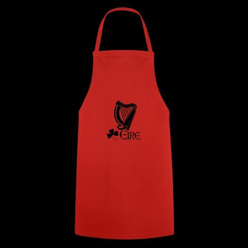 Irish Harp and Shamrock - Cooking Apron