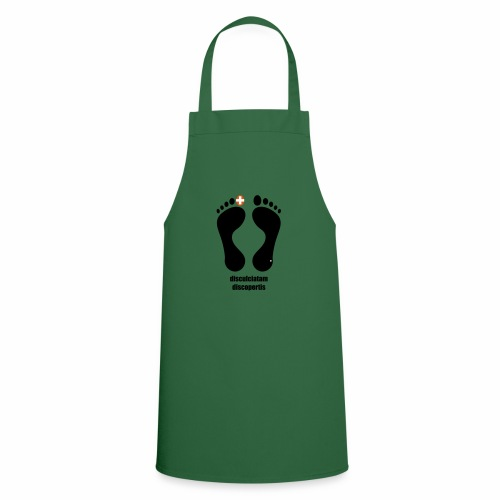 Barfuss-Logo Latein - Kochschürze