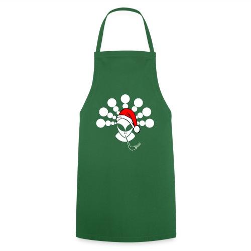 Christmas Alien White - Cooking Apron