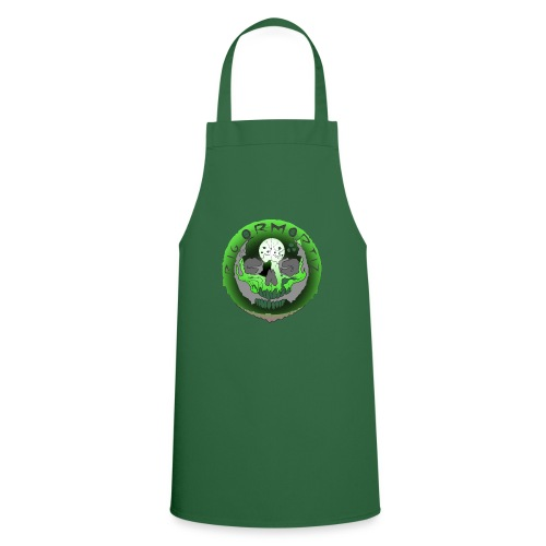 Rigormortiz Metallic Green Design - Cooking Apron