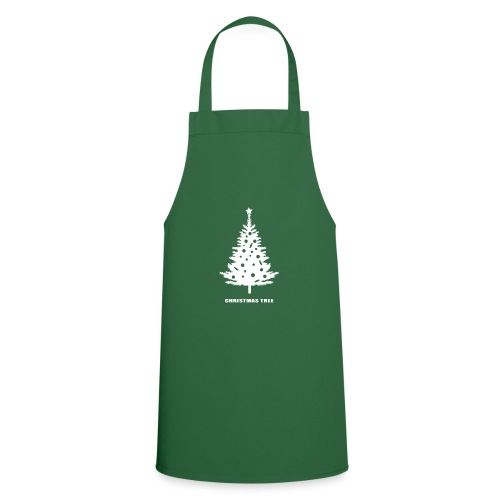 christmas tree, christmas, new year, rockefeller - Cooking Apron