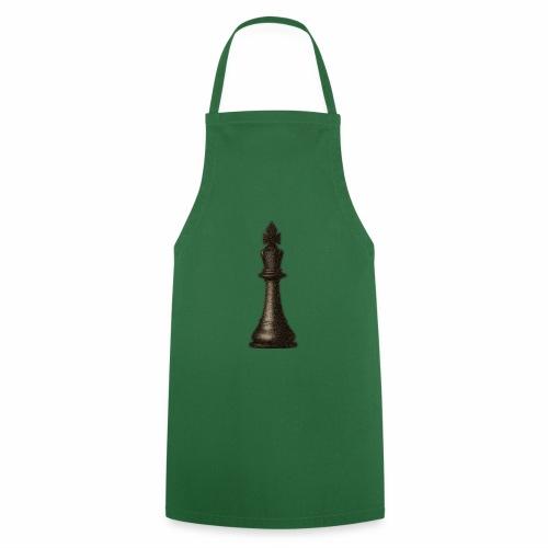 King / Queen chess logo premium wear - Kochschürze