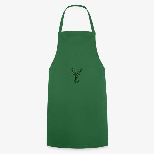 Ciervo geometrico - Delantal de cocina