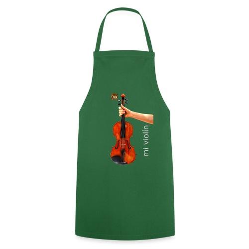 MI violín - Delantal de cocina