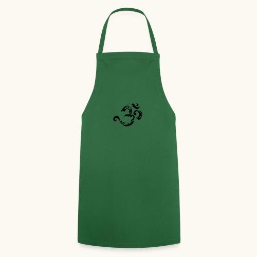 Design Tribal Om hindouisme symbole spirituel - Tablier de cuisine